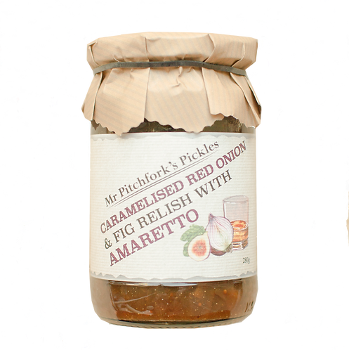 Caramelised Red Onion & Fig Relish with Amaretto