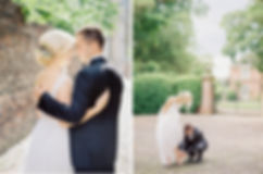 Fine Art Wedding Photography UK. Bride & Groom portrait session in York, UK.