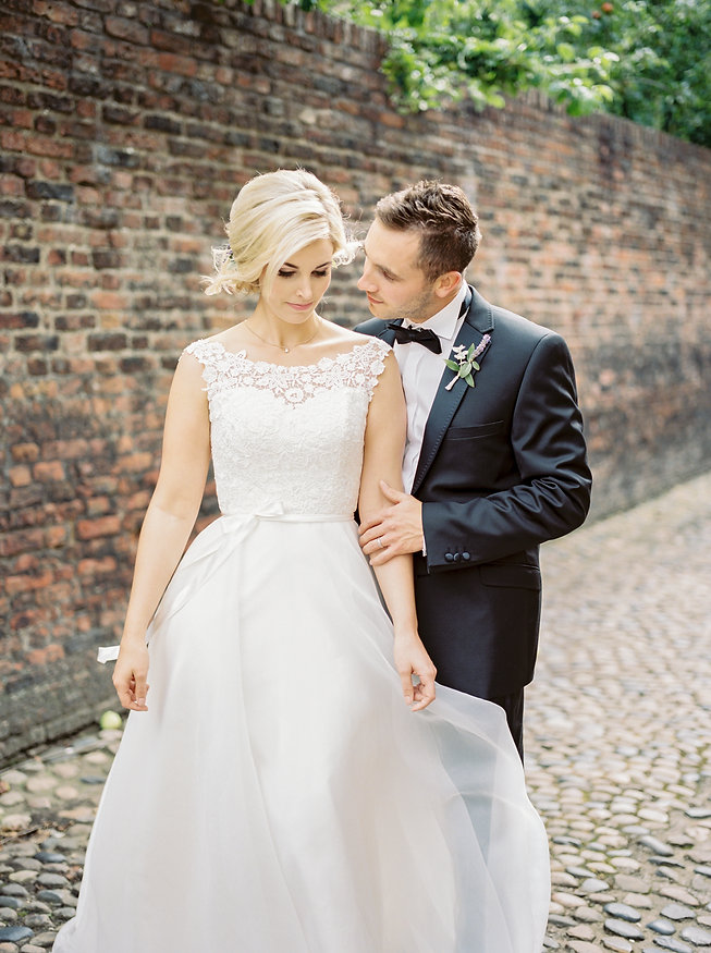 Luminous Wedding Photography UK, Bride & Groom Cuddling