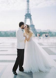 Parisian Elopement Photography