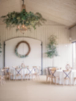 Primrose Hill Farm Wedding Photography. Photo of stunning light filled wedding hall overlooking the countryside