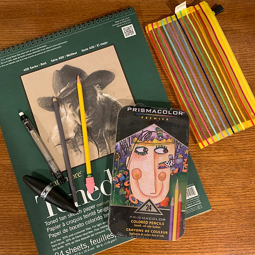 Prismacolor Drawing Kit