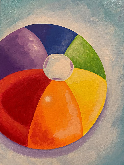 Beach Ball Painting Tutorial With Kit