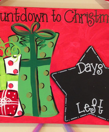 Red Countdown to Chistmas.JPG