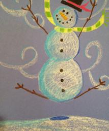Oil pastel snowman.JPG