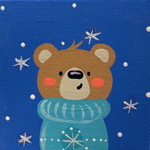 Saturday Kids' Class, Winter Bear, December 18th, 10:00am-noon