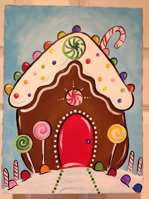 Saturday Kids' Class, Gingerbread House December 4th, 10:00am-noon