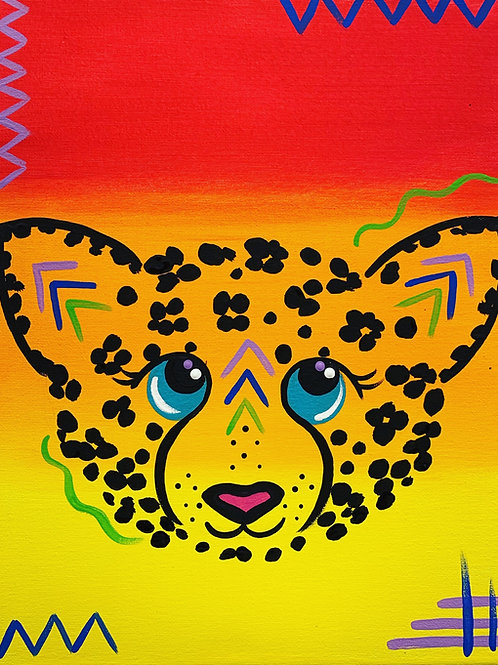 Online Cheetah Painting Tutorial