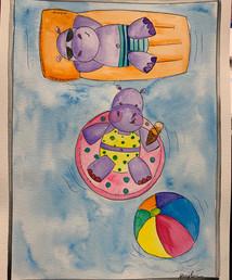 Hippos Floating.jpg
