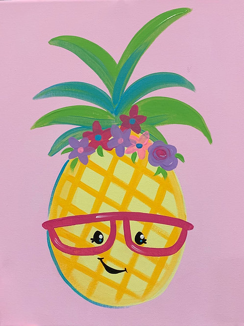 NEW Online Pineapple Painting Tutorial