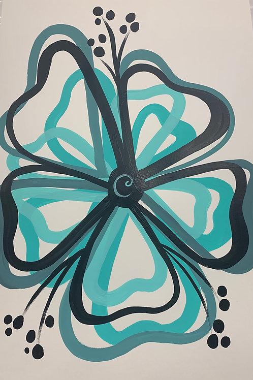 Simple Spring Flower Painting Tutorial