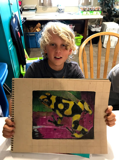 Summer Camp #7, Drawing, July 19-23, 1:00-3:00 pm, ages 9 and up