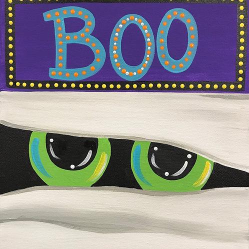 Saturday Kids' Class, Boo Mummey, October 23rd, 10:00am-noon