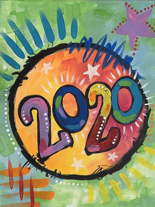 Online 2020 Painting Tutorial
