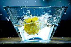 Eau fraîche citronnée