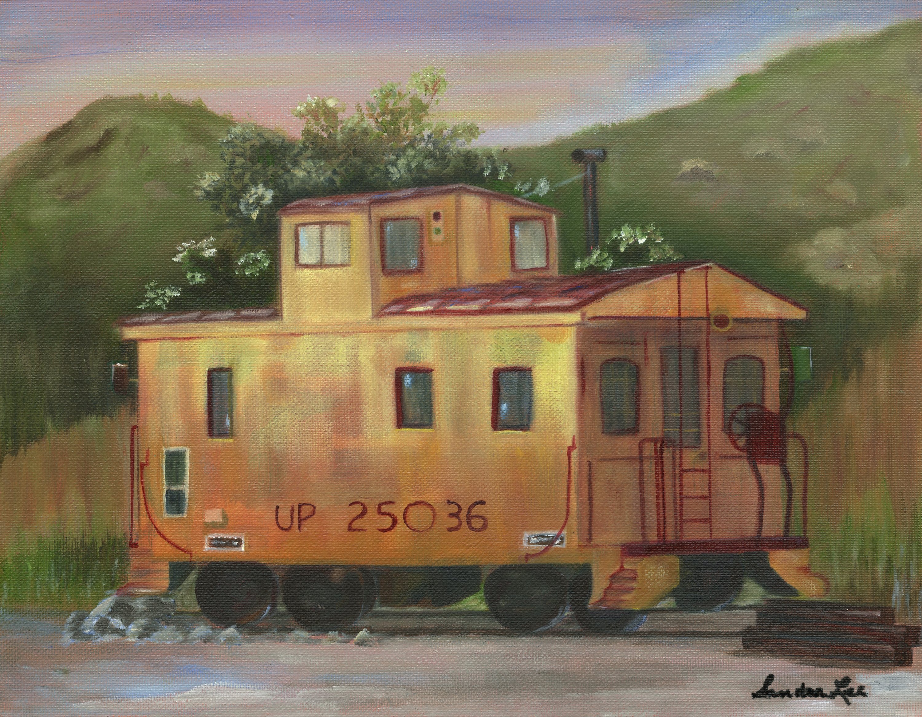 TINTIC JUNCTION CABOOSE