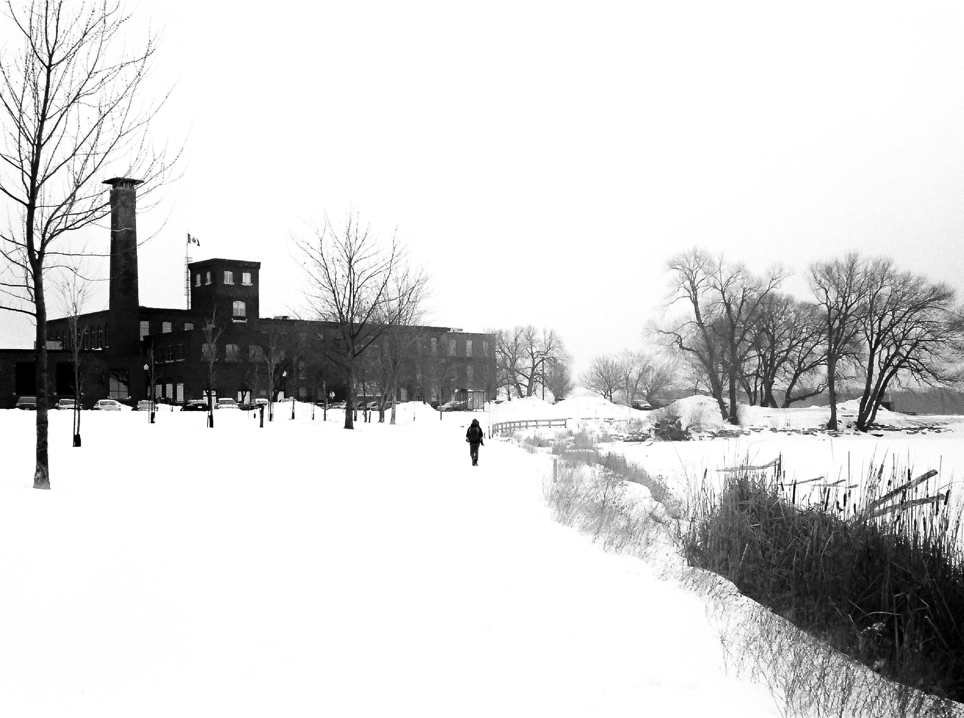 Through the Snow by Sebastien Duff-Maill