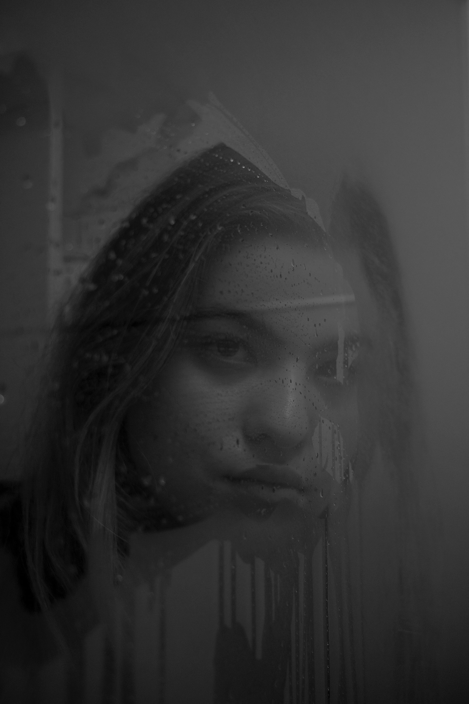 Girl Through the Steam