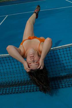 Tangerine Tennis by Ffion Turner-Lawrence