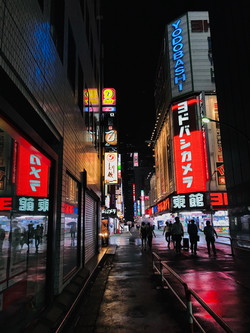 Tokyo Rain by Cameron Yap