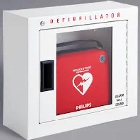 Philips Defibrillator Cabinet, Basic