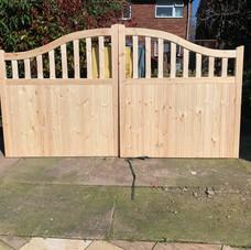Newport Style Driveway Gate