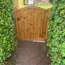 Arch Wooden Gate from £95