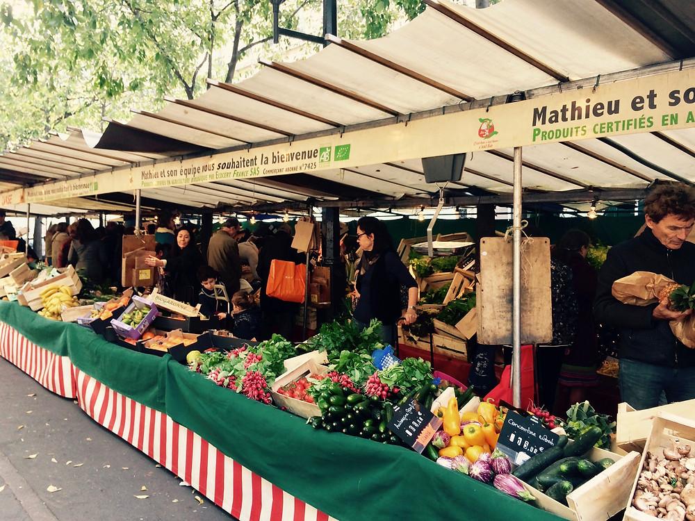 Marché Bio des Batignolles