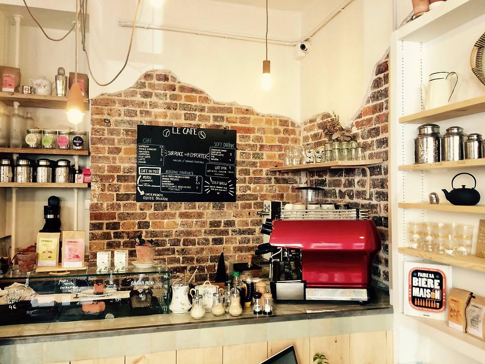 Welcome bio bazar / Café