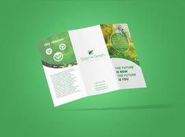 Steri-green brochure outside