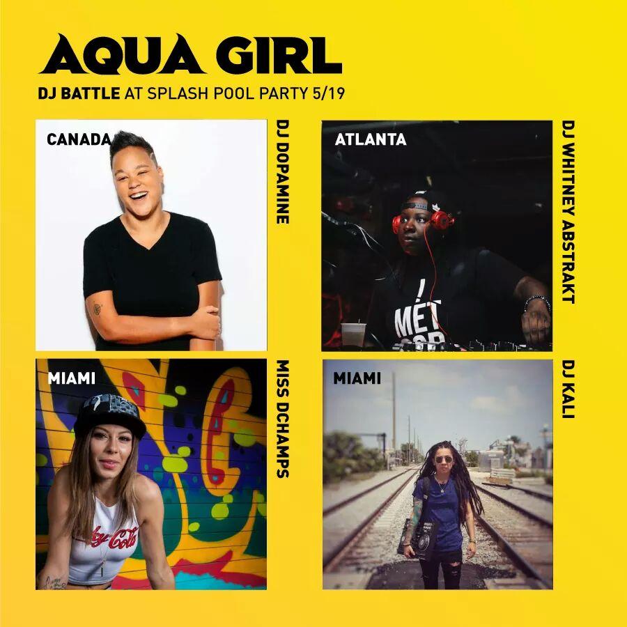 DJ Dopamine x Aqua Girl 2017