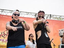 DJ Dopamine and Amber