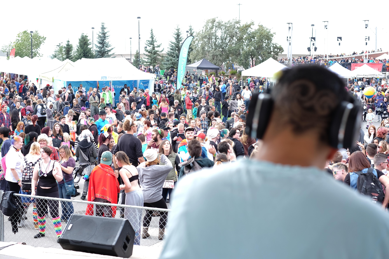 DJ DOPAMINE @ CALGARY RPIDE FESTIVAL