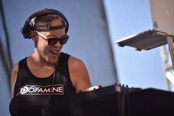 DJ DOPAMINE AT LONG BEACH PRIDE