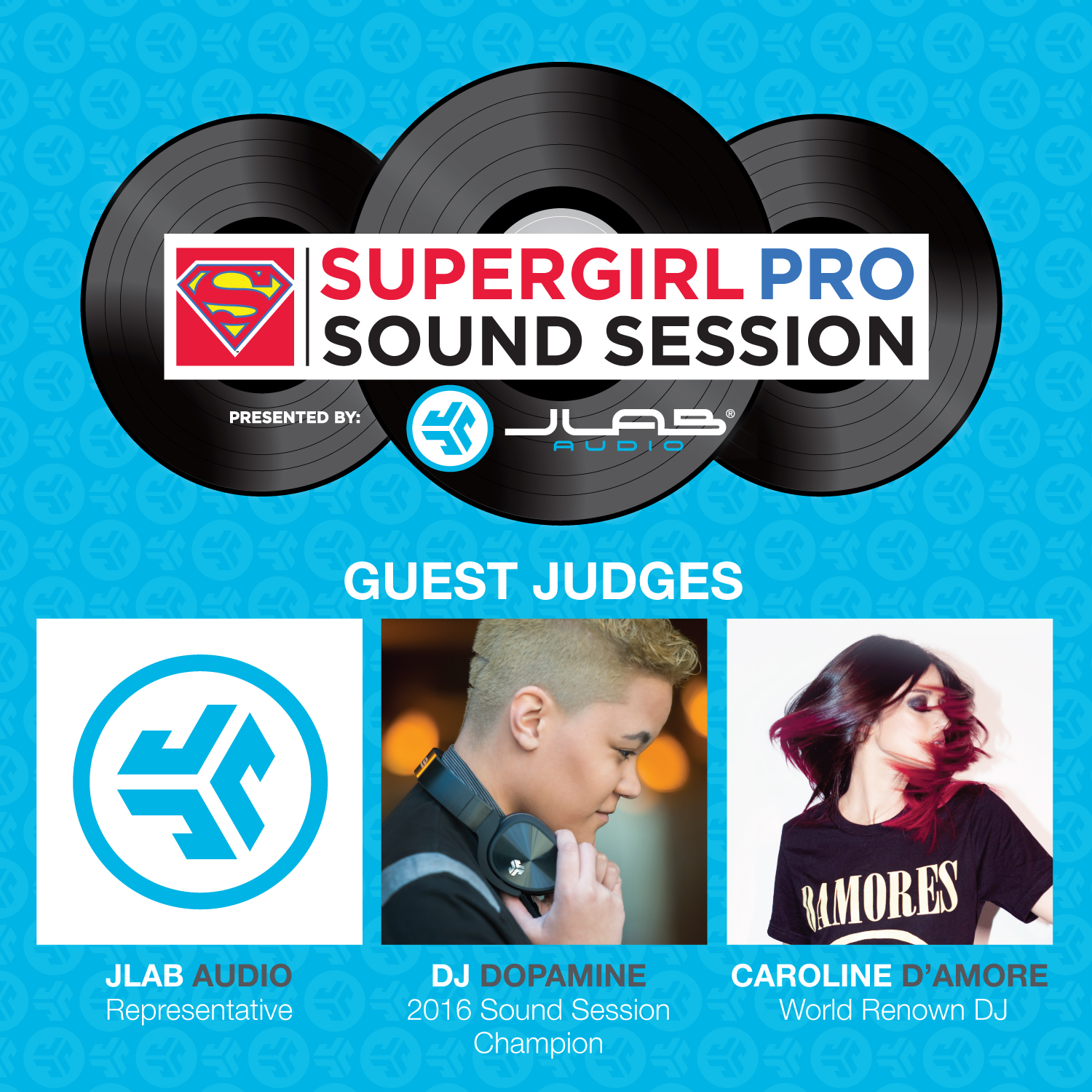 Supergirl PRO concert Flyers_Guest judges