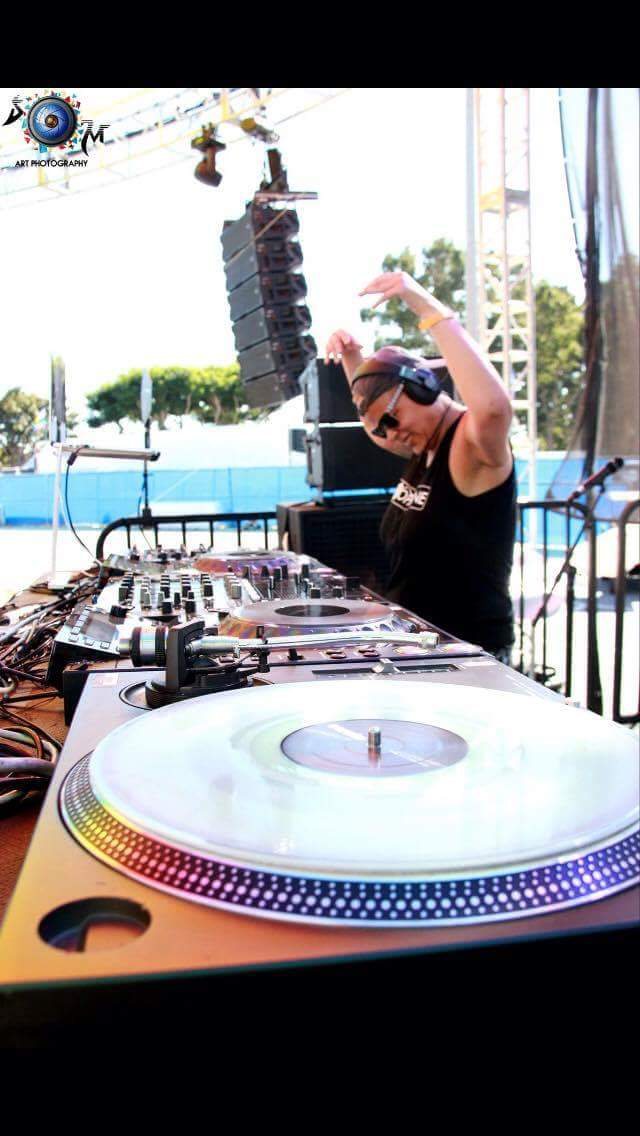 DJ Dopamine live @ Long Beach Pride