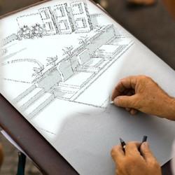 dessin-de-monument-funeraire