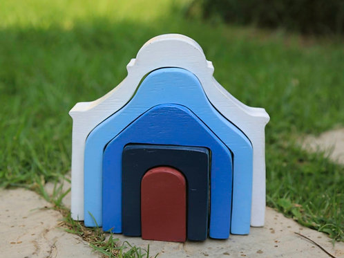 House Stacking Puzzle