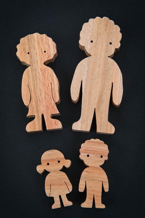 Munchkin Doll Family - Set of 4