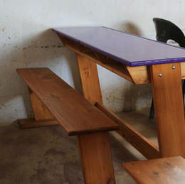 3 Seat Student Desk
