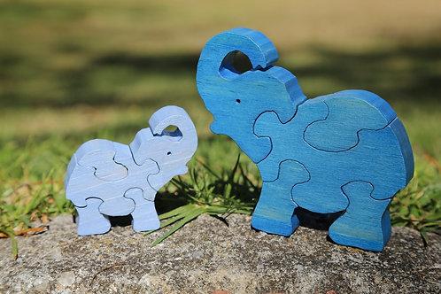 Elephant Puzzle Set (Mamma & Baby)