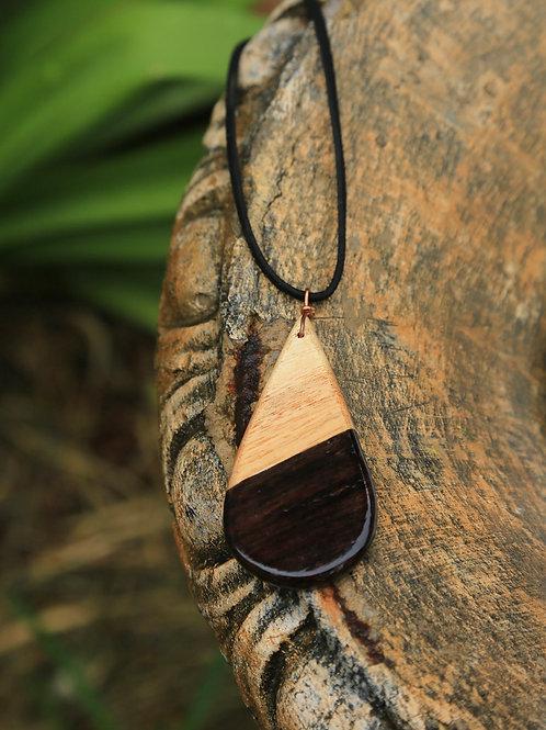 Teardrop 2-Tone Necklace