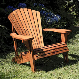 Single Seat Adirondack Chair
