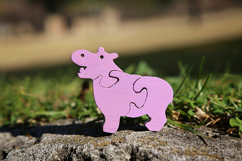 Baby Hippo Puzzle