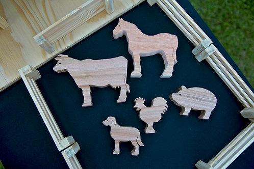 Farmyard Animals - Set of 5