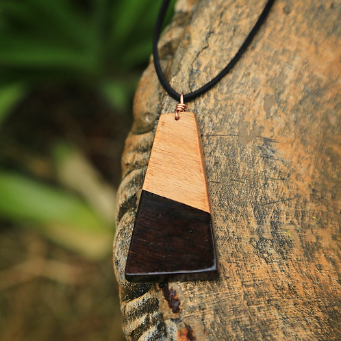 Trapezoid 2-Tone Necklace