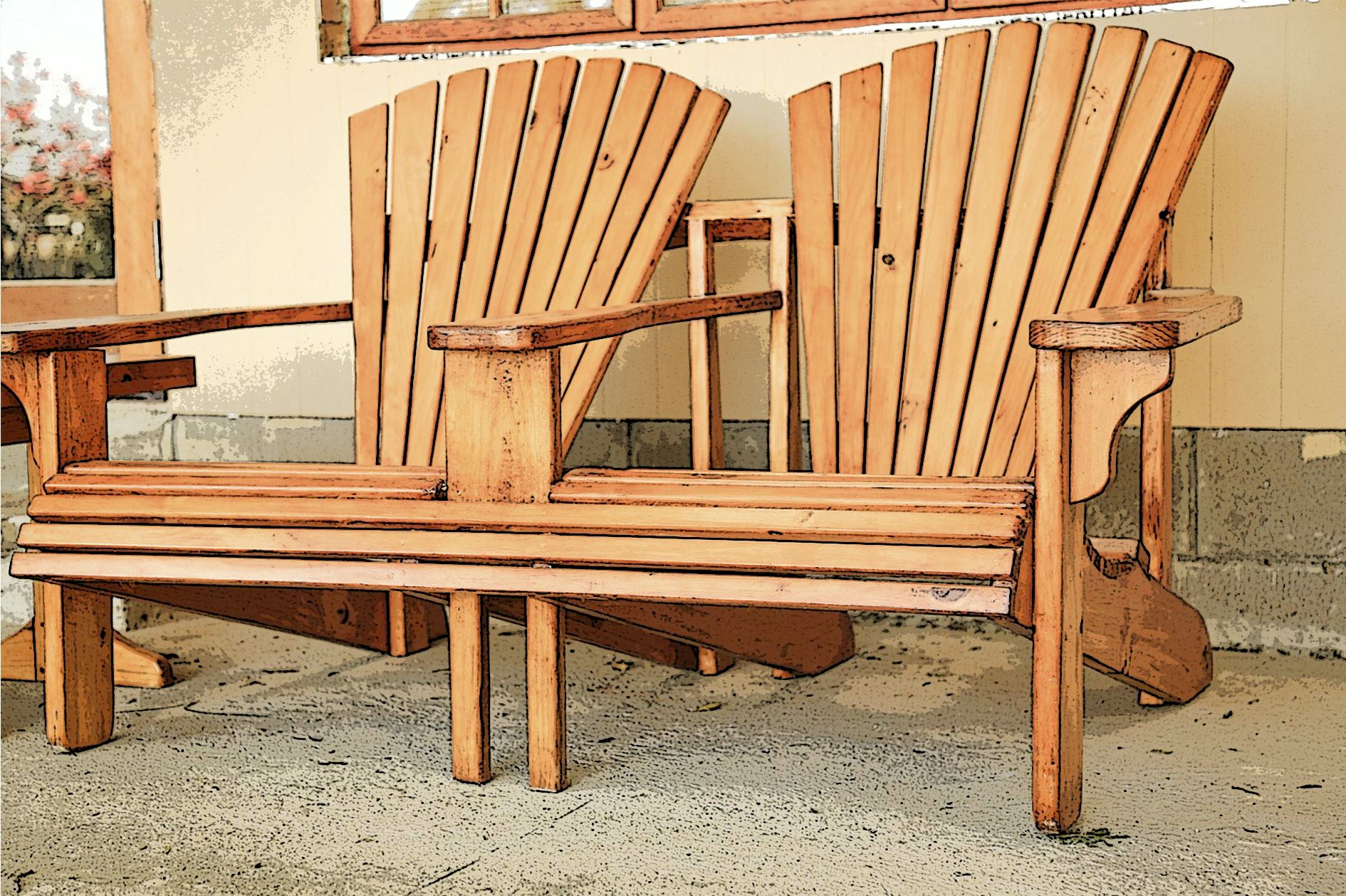 2 Seat Chair