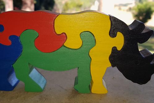 Rian Rhino Puzzle