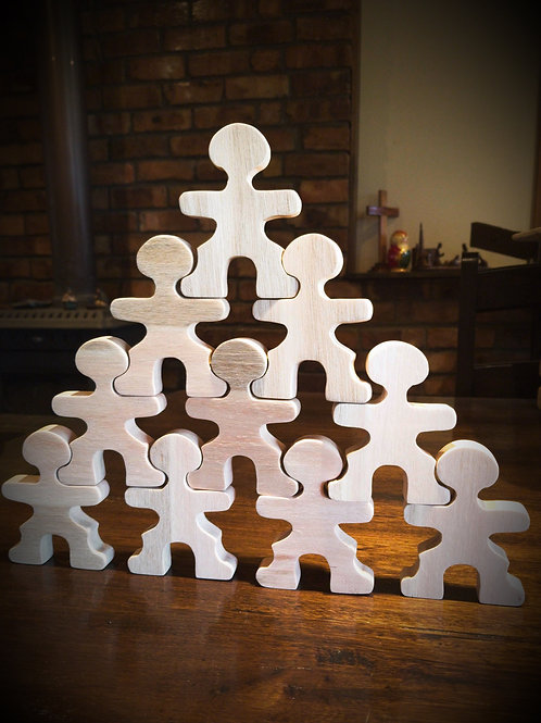 Stacking Puzzle People
