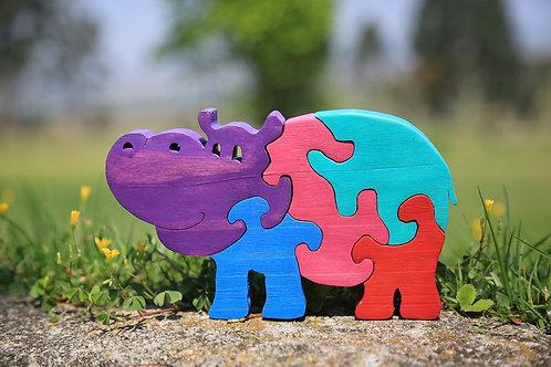 Henrietta Hippo Puzzle